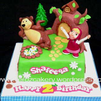 Masha and The Bear Verozcakery